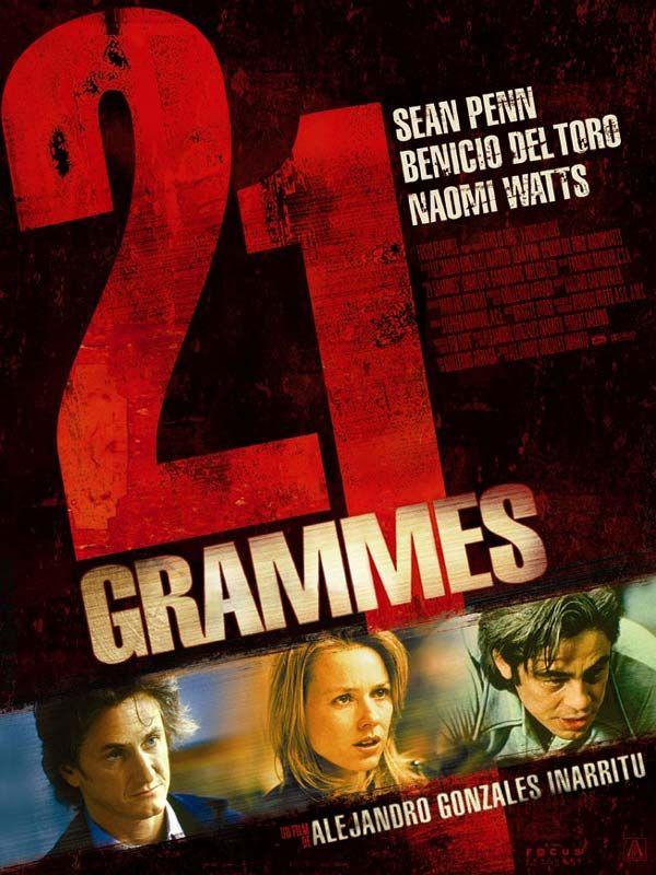 Jaquette du film 21 grammes