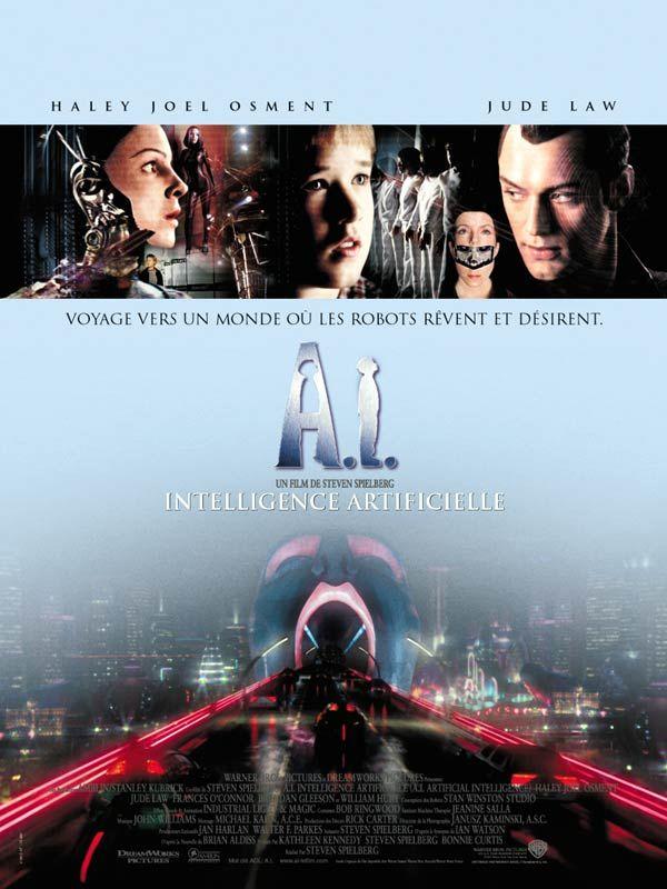 Jaquette du film A.I. Intelligence artificielle