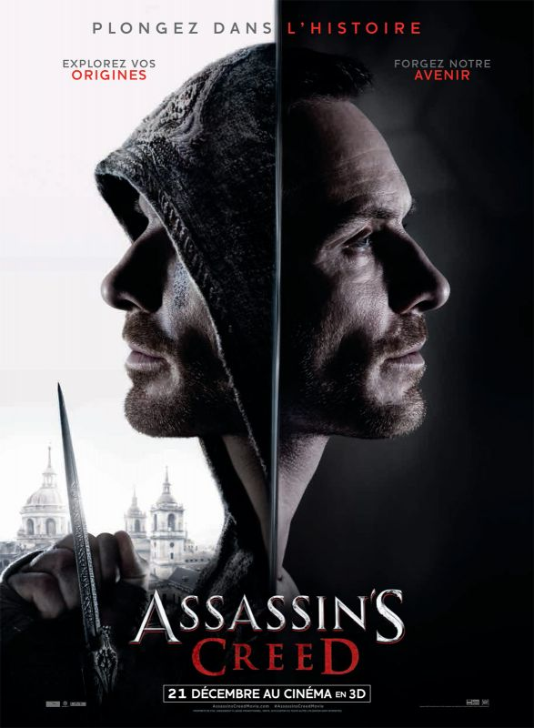 Jaquette du film Assassin's Creed