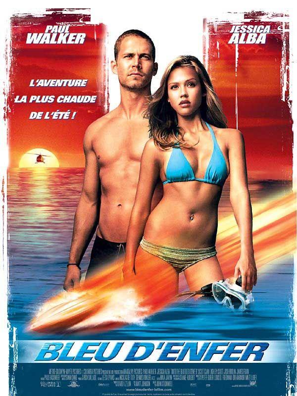 Affiche du film Bleu d'enfer (2006) de John Stockwell.
