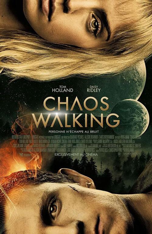 Affiche du film Chaos Walking (2021) de Doug Liman.