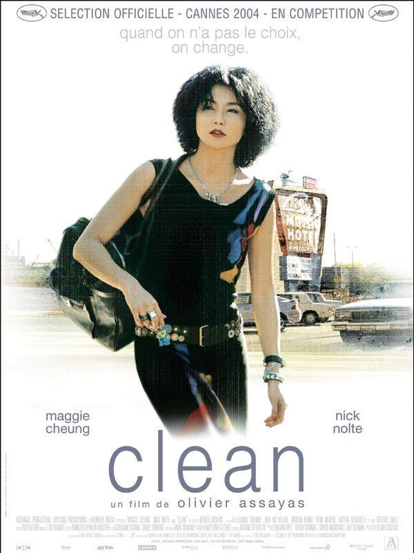 Jaquette du film Clean