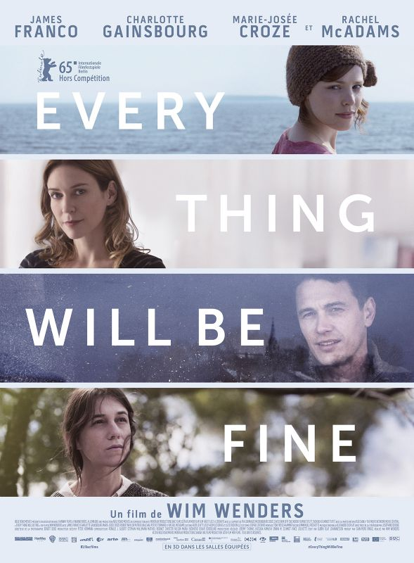 Jaquette du film Every Thing Will Be Fine