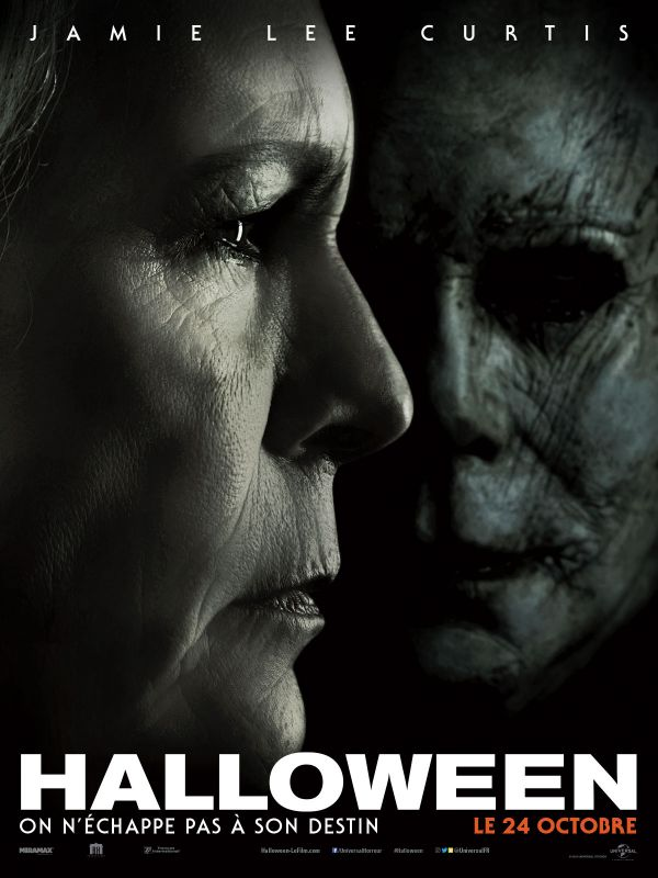 Affiche du film Halloween (2019) de David Gordon Green.