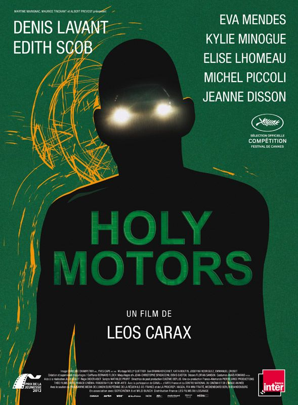 Jaquette du film Holy Motors