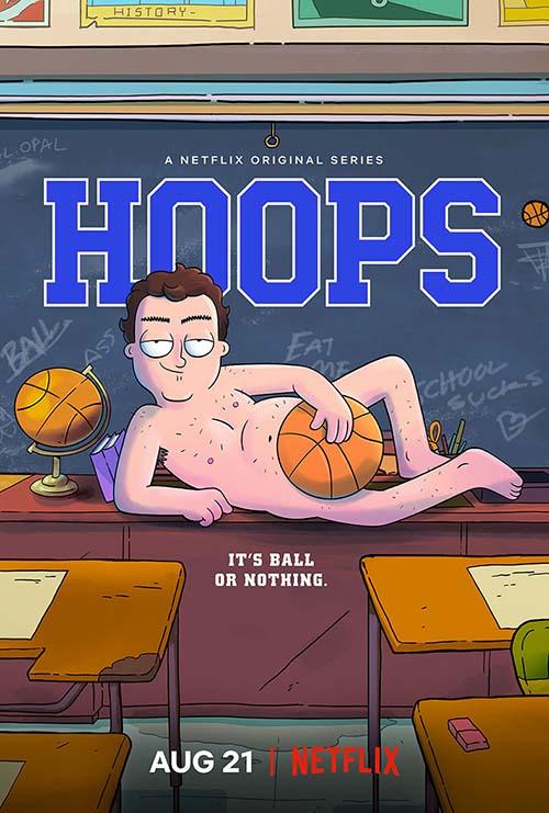Affiche de la série Hoops (2020)
