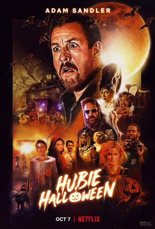 Affiche du film Hubie Halloween (2020) de Steven Brill.