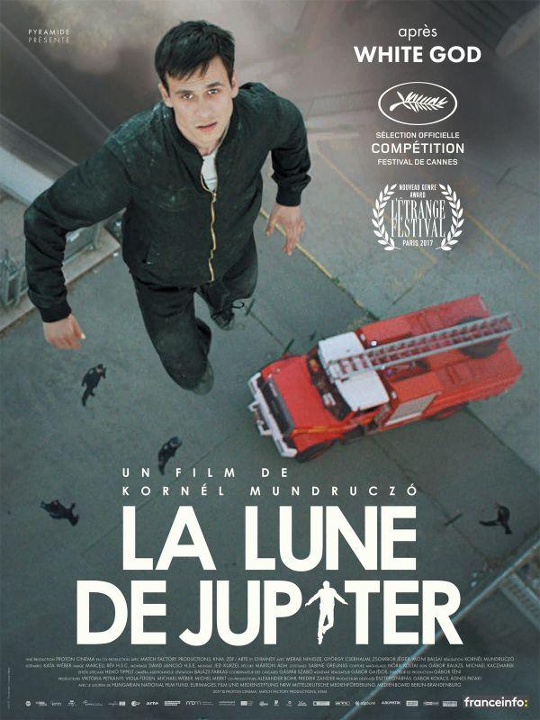 Affiche du film La Lune de Jupiter (2017) de Kornél Mundruczó.