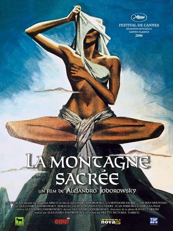 Jaquette du film La Montagne sacrée