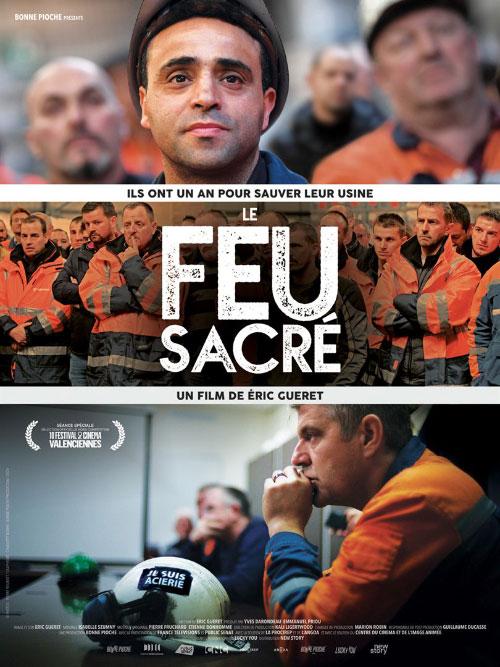 Affiche du documentaire Le feu sacré (2020) de Eric Guéret.