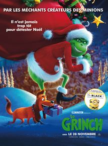 Affiche du film Le Grinch (2018) de Scott Mosier et Yarrow Cheney.