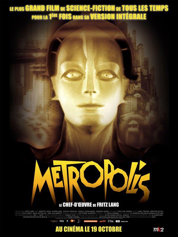 Jaquette du film Metropolis