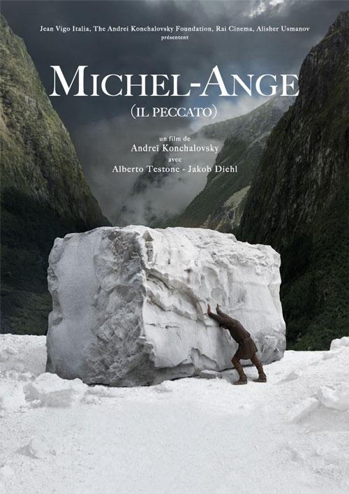 Affiche du film Michel-Ange (2020) de Andrey Konchalovsky.