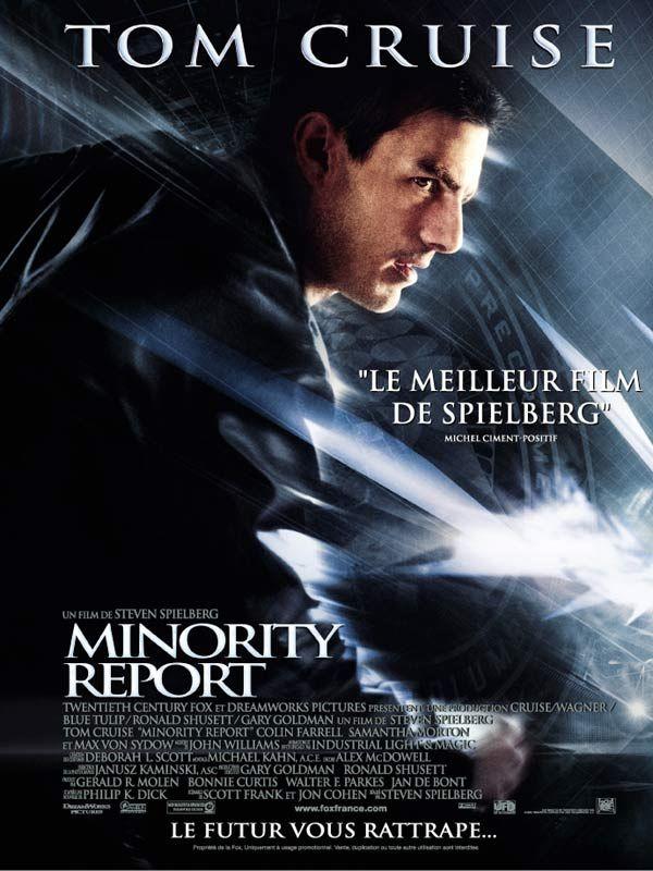 Jaquette du film Minority Report