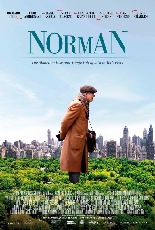 Jaquette du film Norman: The Moderate Rise and Tragic Fall of a New York Fixer