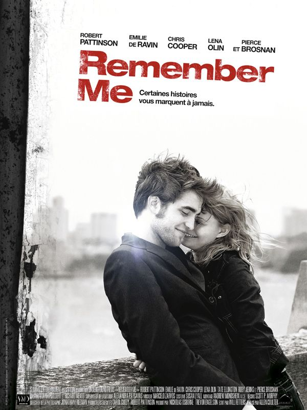 Jaquette du film Remember Me