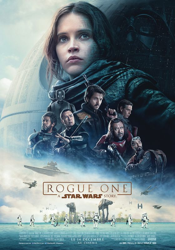 Jaquette du film Rogue One: A Star Wars Story