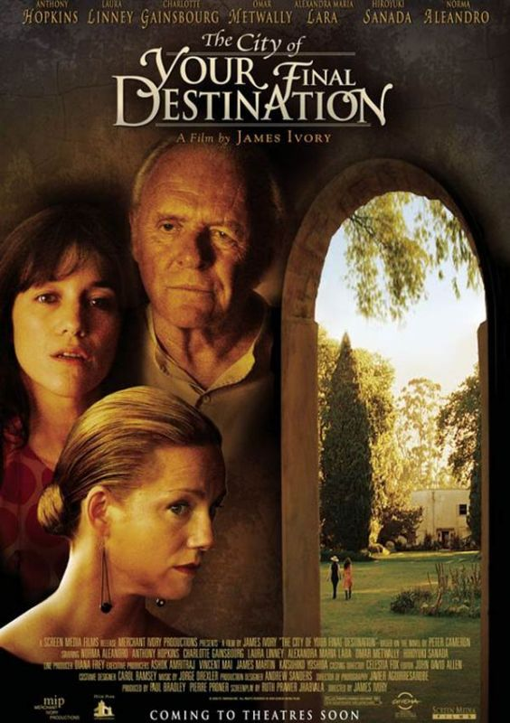 Jaquette du film The City of Your Final Destination