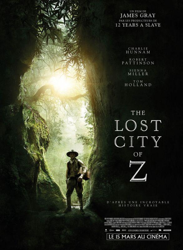 Jaquette du film The Lost City of Z