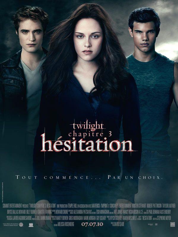 Jaquette du film Twilight - Chapitre 3 : hésitation