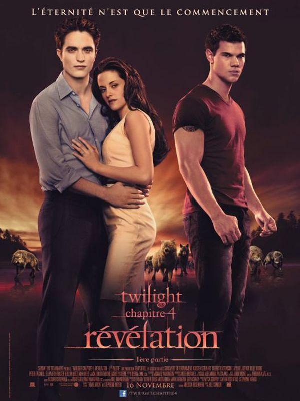 Jaquette du film Twilight - Chapitre 4 : Révélation 1ère partie