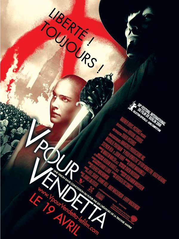 Jaquette du film V pour Vendetta