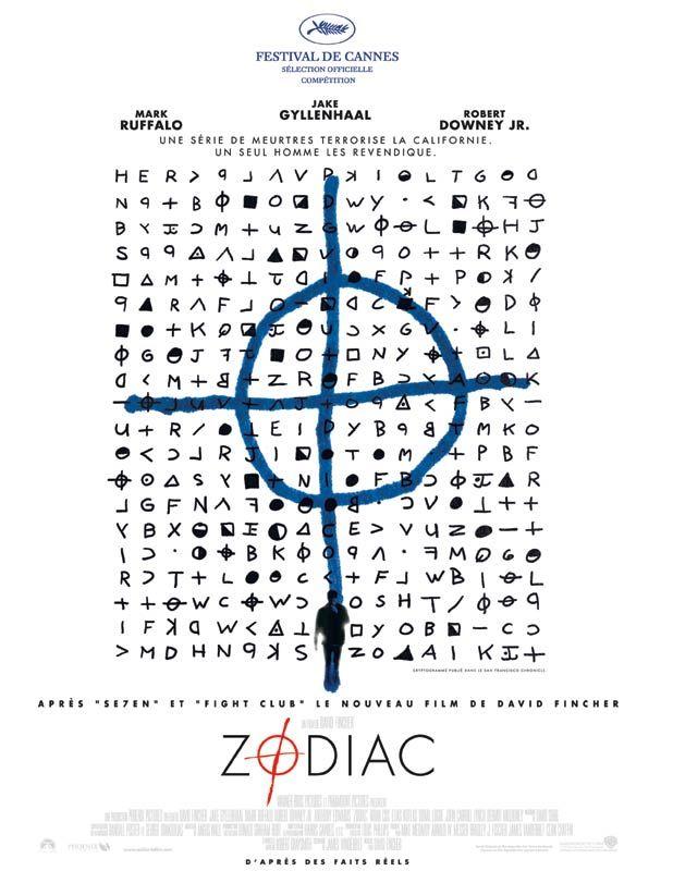 Jaquette du film Zodiac